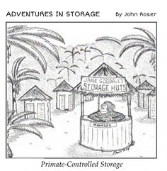 Primate-Controlled Storage
