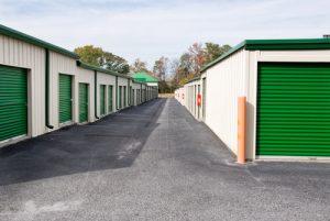 Units at a storage facility.