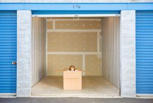 Box in storage unit
