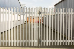 Storage unit gate