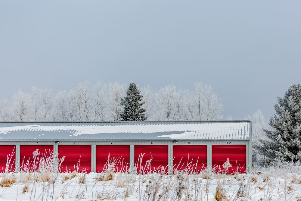 storage unit wintertime